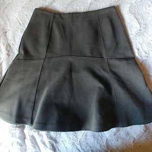 LOFT Army Green Skirt